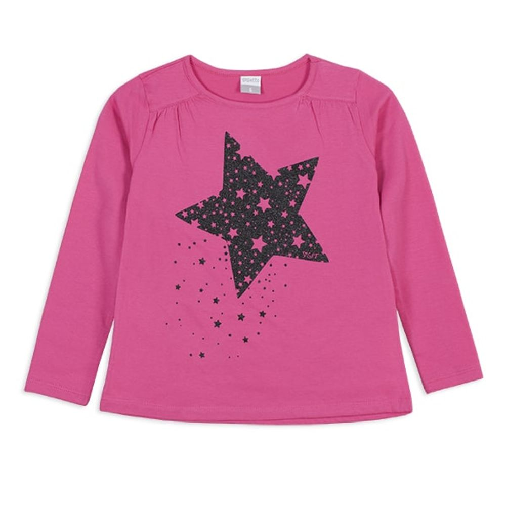 Remera-con-estampa-brillo--Estrella--