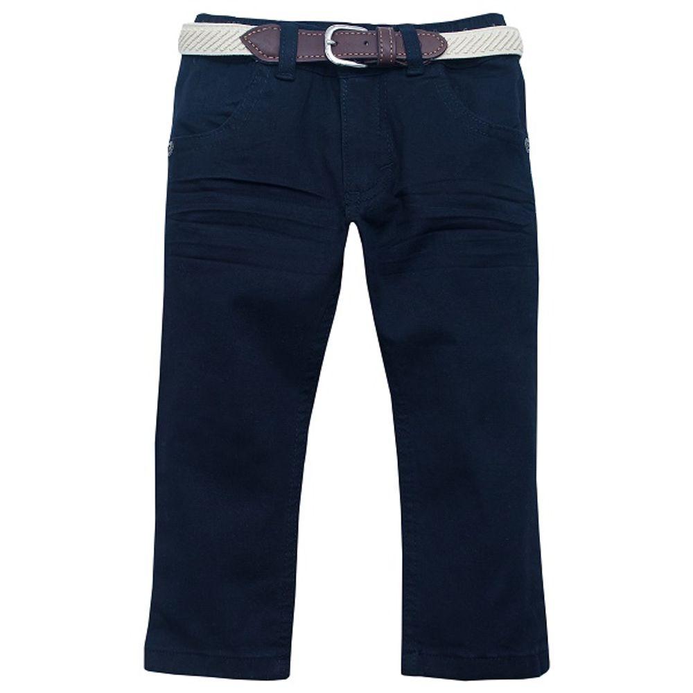 Pantalon-color-elastizado-con-cinturon