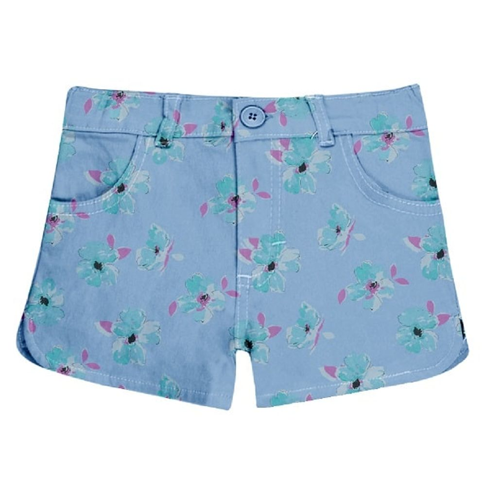 Short-estampado-flores