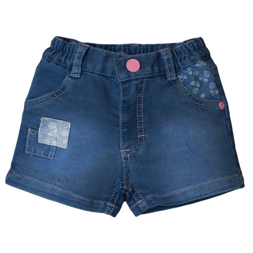 Short-jean-combinado