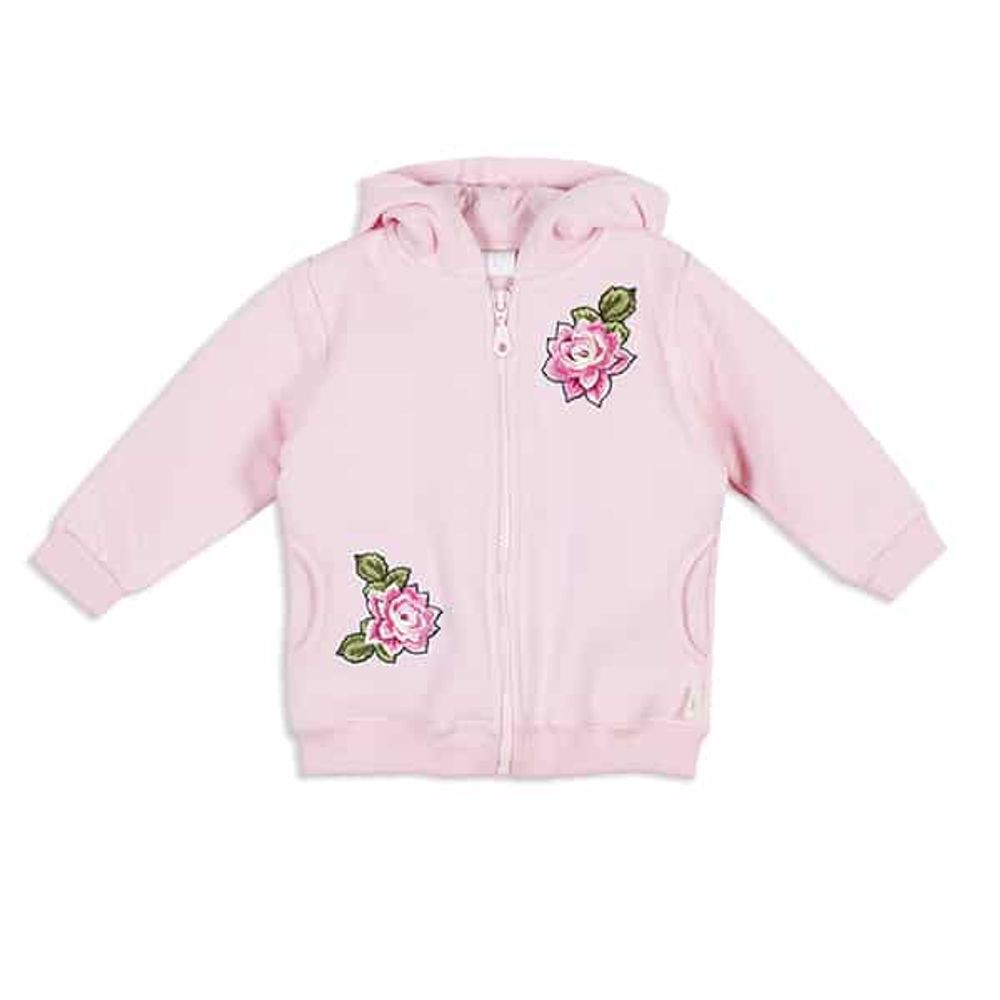Campera-frisa-parches-de-flores