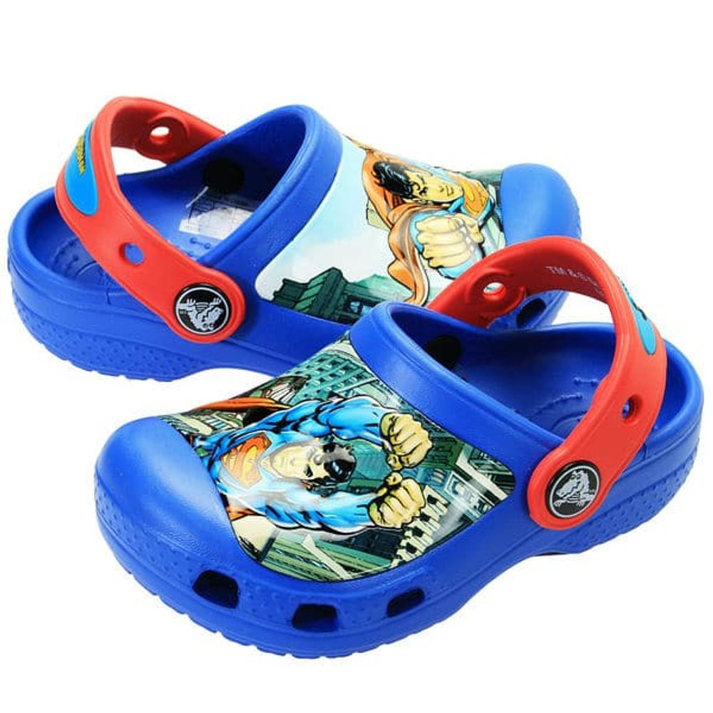 crocs-superman-clog