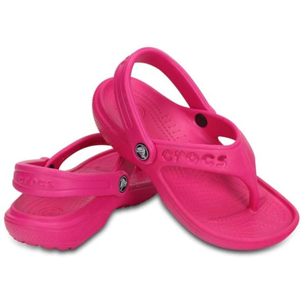 crocs-baya-flip-kids-neon-magenta