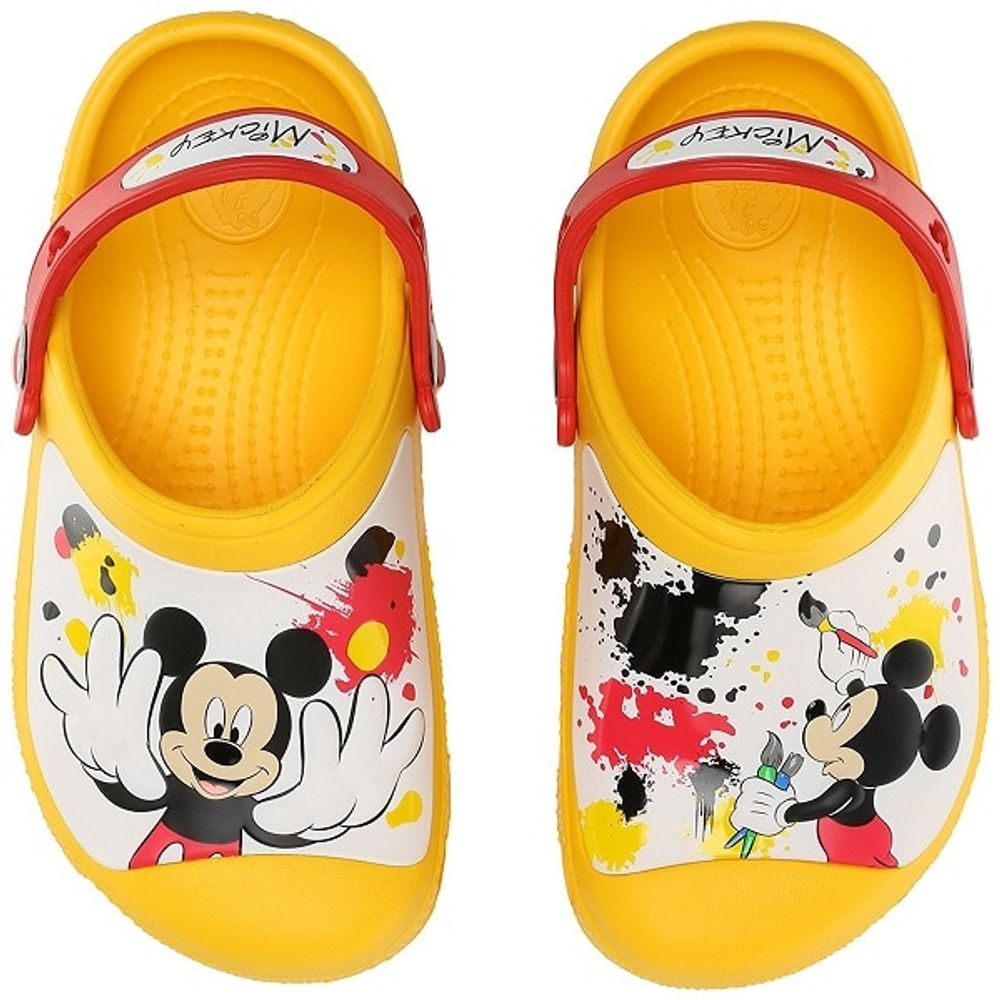 croc-mickey-clog-yellow