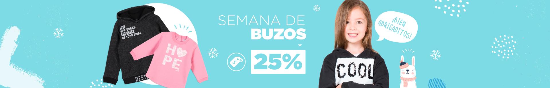 Semana Buzos 25%