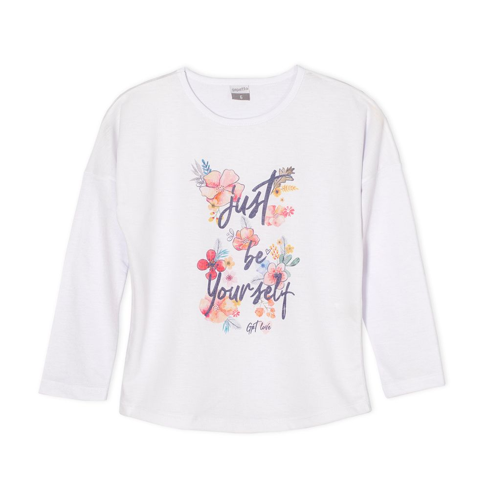 REMERA-JUST-BE-YOURSELF-JR-NENA