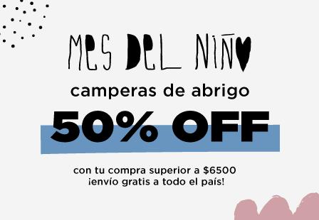 CAMPERA 50% MOBILE