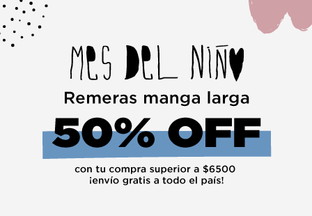 REMERAS 50% MOBILE