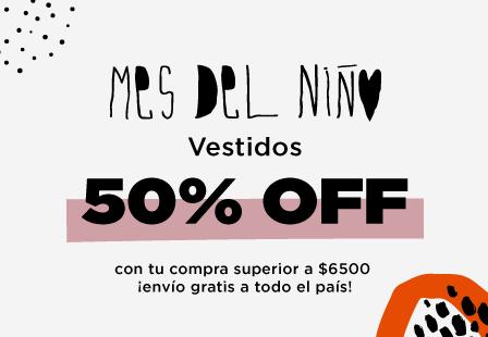VESTIDOS 50% MOBILE